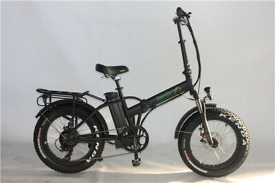 Green Bike USA GB1 FAT TIRE folding electric bicycle, 500W, 48V/10AH Battery