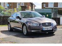 Jaguar XF DIESEL SALOON 2.7d tdv6 Luxury 4dr Auto 2008 58 FSH 1 FORMER KEEPER bargain