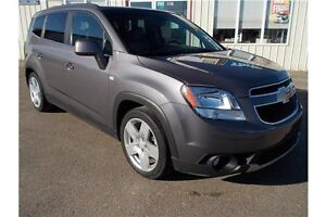 2012 Chevrolet Orlando LTZ LTZ*Leather*LOW KM*7 Passanger Regina Regina Area image 1