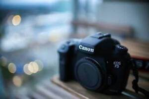 Canon 7D Mark II Body with Extras! 3 Batteries, Battery Grip, SD
