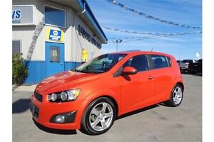 2012 Chevrolet Sonic LT 1.8L 4CYL 6SPD AUTO