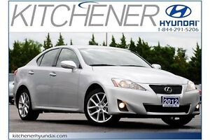 2012 Lexus IS 250 Base (A6) // AUTO // AC // LEATHER // POWER...