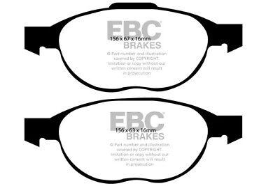 EBC Yellowstuff Front Brake Pads for Mazda 5 1.8 (CW) (116 BHP) (2010 > 17)