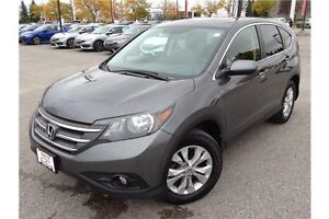 2013 HONDA CR-V EX-L AWD - LEATHER INT - SUNROOF - REARVIEW CAM