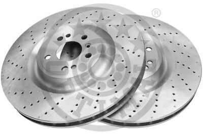 2x BS-9244HC OPTIMAL Bremsscheibe für MERCEDES-BENZ