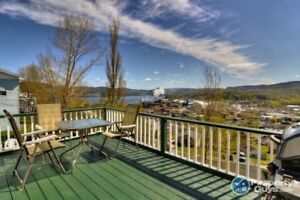 Check out the view! 3 bdrm split with 1 bdrm in-law suite