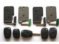 Renault key card Scenic Laguna Espace Key Programming Replacement 07863202942 Auto locksmith
