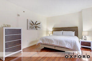 Downtown Luxury Furnished 2 Bedroom with Balcony