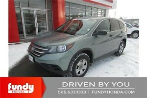 2013 Honda CR-V LX FUNDY CERTIFIED - LOW PAYMENT - GREAT VALUE!
