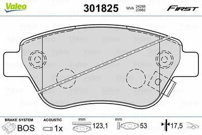 VALEO Bremsbelagsatz, Scheibenbremse 301825 für FIAT OPEL