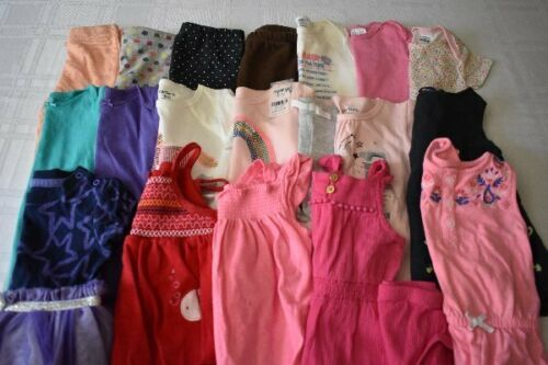 Used 20 Pc. Lot Of Baby Girl Clothes 6-12 Months Euc/vguc