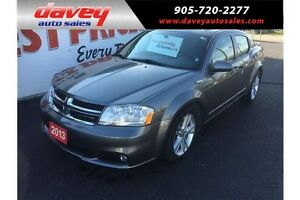 2013 Dodge Avenger SXT SUNROOF, BLUETOOTH, HEATED SEATS