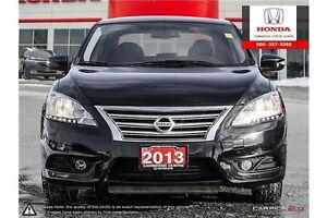 2013 Nissan Sentra GPS NAVIGATION | REAR VIEW CAMERA WITH GUI... Cambridge Kitchener Area image 2