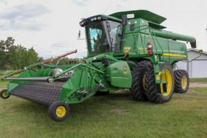 Combine and Swather Combo