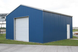 STEEL BUILDINGS - FOR FALL OR SPRING DELIVERY