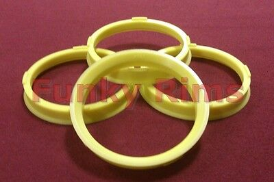 Spigot Rings for Aftermarket Alloy Wheels 73.1mm - 65.1mm Vauxhall Astra Corsa