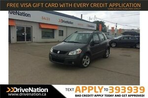 2010 Suzuki SX4 JLX GUN METAL GREY! AWD HATCHBACK!
