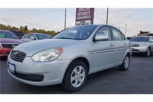 2009 Hyundai Accent GLS GLS !! NO ACCIDENTS !! ATUO !! A/C !!