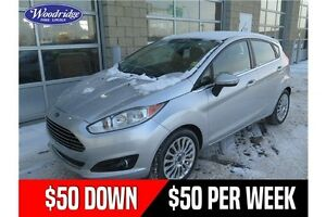 2014 Ford Fiesta Titanium 50/50 SALE! AUTO, NO ACCIDENTS, HEA...