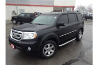 2011 HONDA PILOT TOURING - 3.5L 6CYL - AWD - LEATHER - REAR ENT
