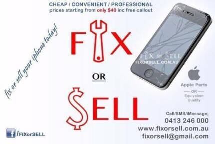  FIX your broken/faulty iPhone or iPad today! West Perth Perth City Preview