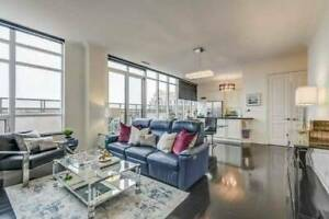 10FT CEILING luxury large PENTHOUSE with huge TERRACE! Vaughan!