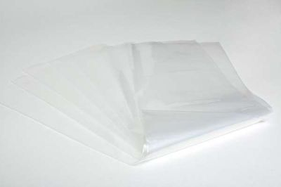 "10 x Strong Heavy Duty Clear Plastic Rubble Bags - 16"" x 32"" – 400 guage"