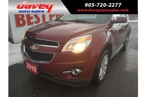 2010 Chevrolet Equinox LT SUNROOF, LEATHER SEATS, 6 CYLINDER