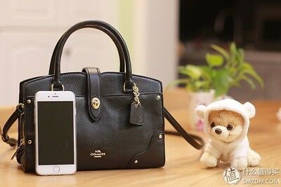 NWT Coach 37779 Mercer 24 in Grain Leather Satchel ~ Black Retail, not OUTLET