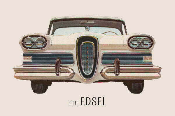 11x17 Photo Print: The Edsel, 1958