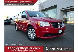 2014 Dodge Grand Caravan SE/SXT LOCALLY DRIVEN!