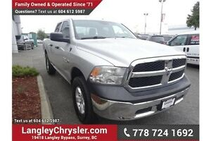 2014 RAM 1500 ST W/ Power Accessories and A/C