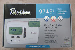 Robertshaw 9715i Programmable MultiStage Thermostat Cambridge Kitchener Area image 1