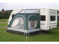 Kampa Vista XL caravan camper motorhome awning put up once