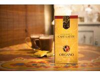 Organo Gold Gourmet Cafe Latte Five (20) Sealed Sachets Single Served 1 Box