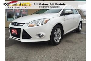 2012 Ford Focus SEL LEATHER! SUNROOF! AUTOMATIC!