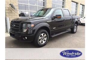 2013 Ford F-150 FX4 3.5L V6 ECO, NAV, LEATHER