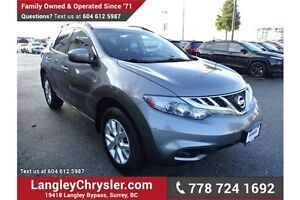 2014 Nissan Murano S W/DUAL ZONE CLIMATE & POWER GROUP