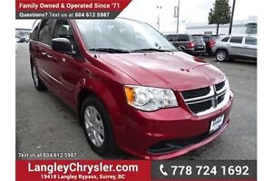 2015 Dodge Grand Caravan SE/SXT w/ Stow n' Go Seats, Power Ac...