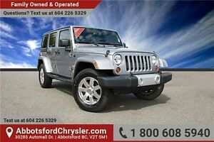 2013 Jeep Wrangler Unlimited Sahara W/ Bluetooth Hands Free