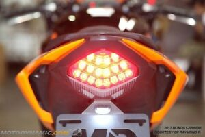2016 - 2018 Honda CBR500R CB500F X Sequential LED Tail Light