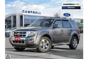 2010 Ford Escape Limited 3.0L LEATHER--V-6-POWER ROOF-AWD