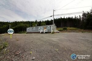4 yr old Kent mini home on almost 13 acres. Rent to own possible