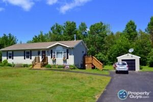 Low taxes, 1 acre lot, 5 bed/2.5 bath fully finished home