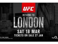 UFC London Ticket