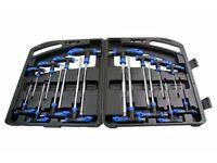 BERGEN 16PC T HANDLE HEX BALL & TORX SET brand New