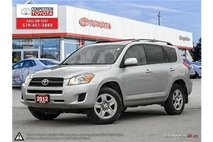 2012 Toyota RAV4 Base Competition Certified, One Owner, No Ac...