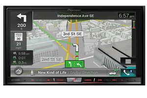 Pioneer Navigation Multimedia Recievers Bluetooth 2015 AVIC AVH