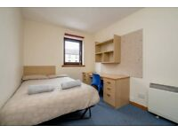 ROOM FOR LET: Double bedroom available for flat share in Fountainbridge with WiFi!