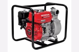 2018 Honda Waterpumps  WB 20 X or WX 10 - $429.00
